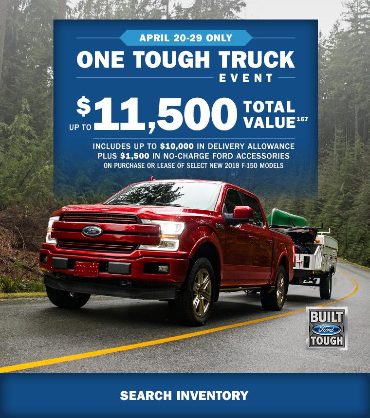 2018 F-150 Tough Truck Event MSA Ford