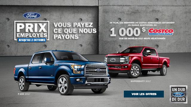 French Truck Ford Employee Pricing