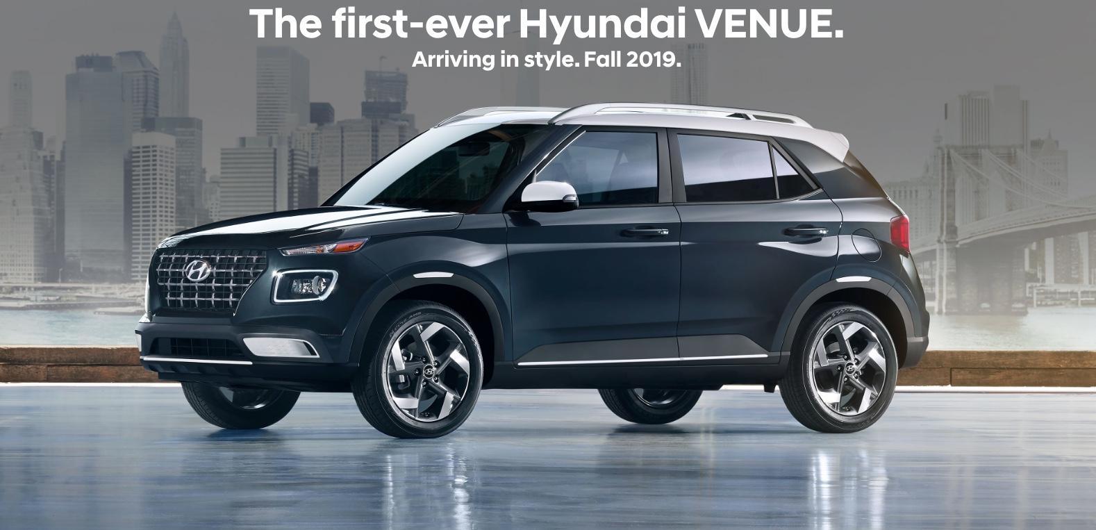 First Ever Hyundai Venue