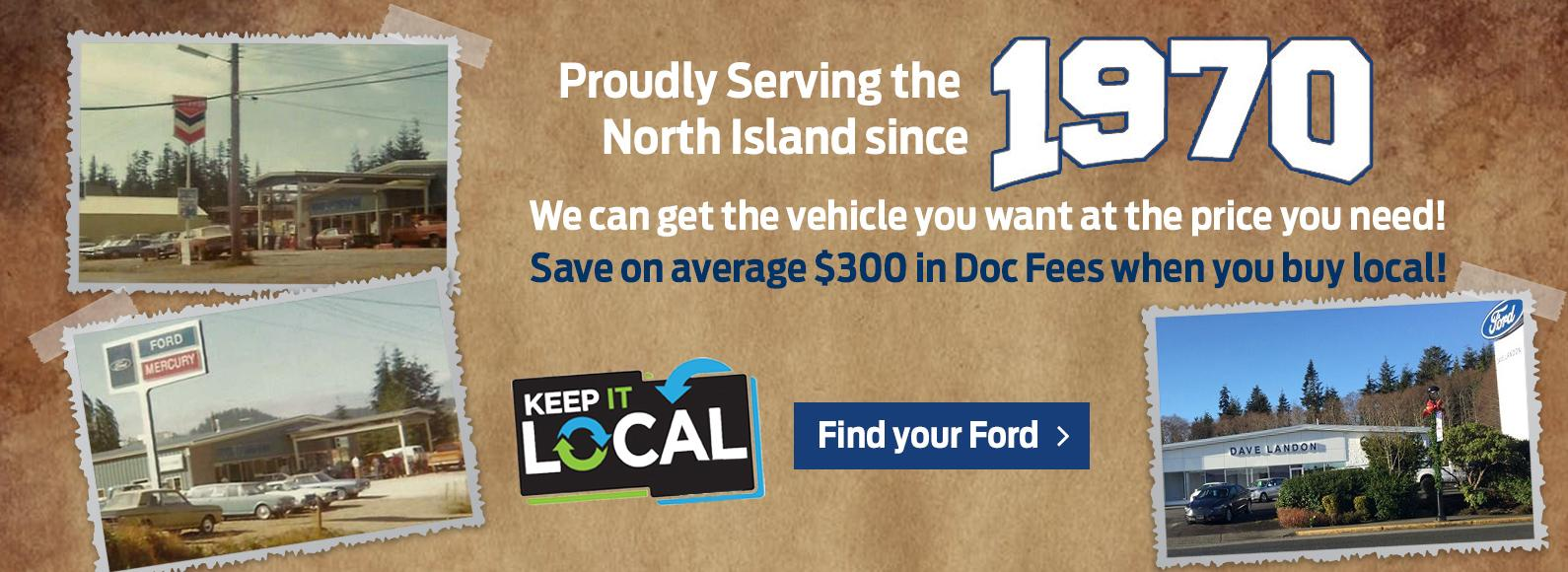 Welcome to Dave Landon Ford in Port Hardy!