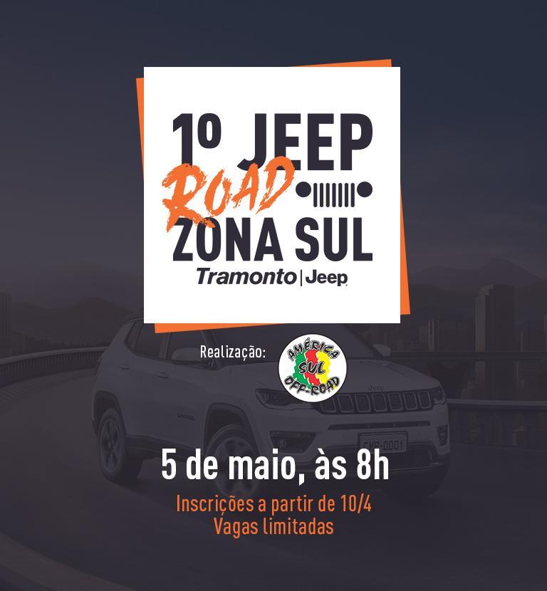 1º Jeep Road Zona Sul