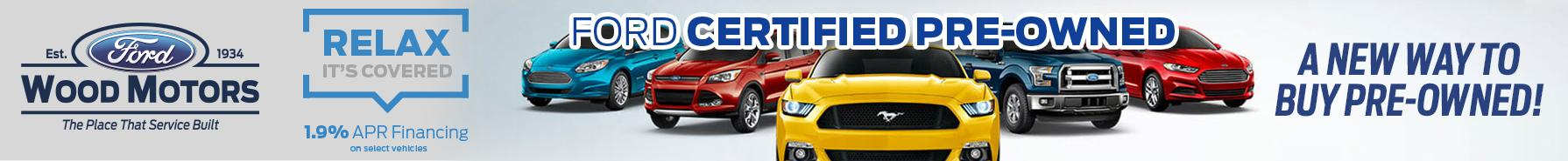 Wood Motors Ford Certified Pre-Owned