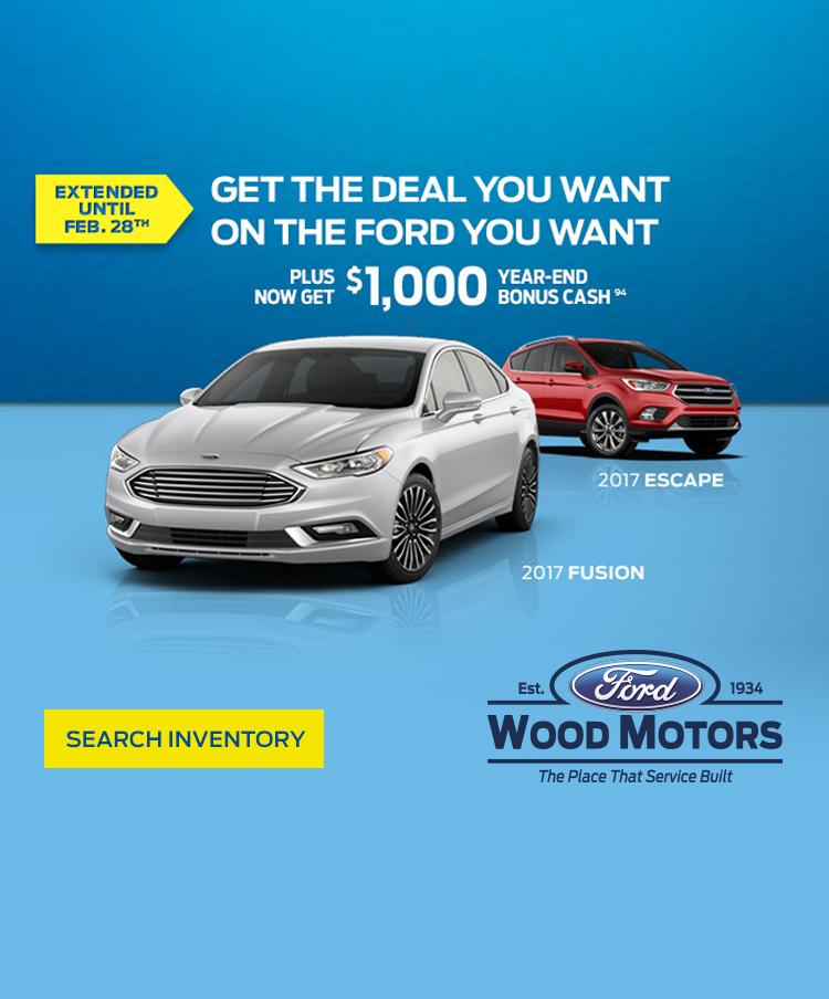 Wood Motors Year-End Deals