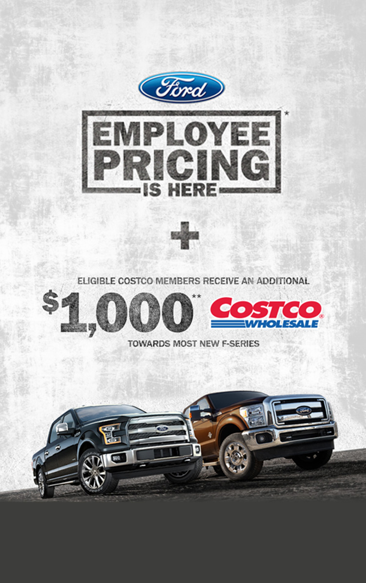 Wood Motors Ford Employee Pricing Event