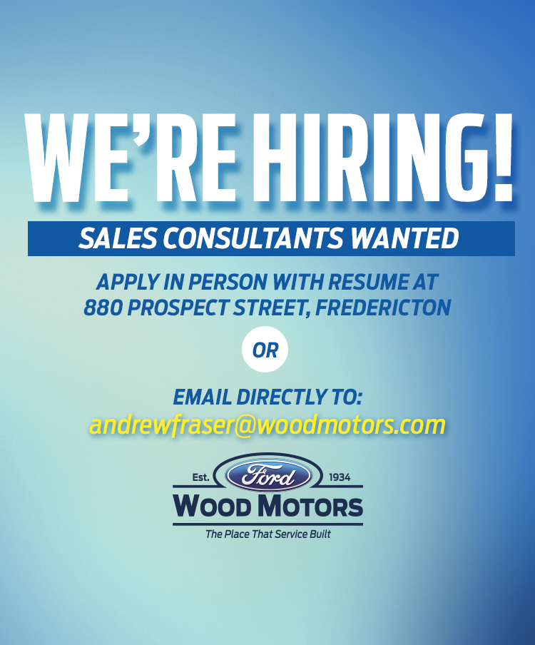 Wood Motors Ford is Hiring!