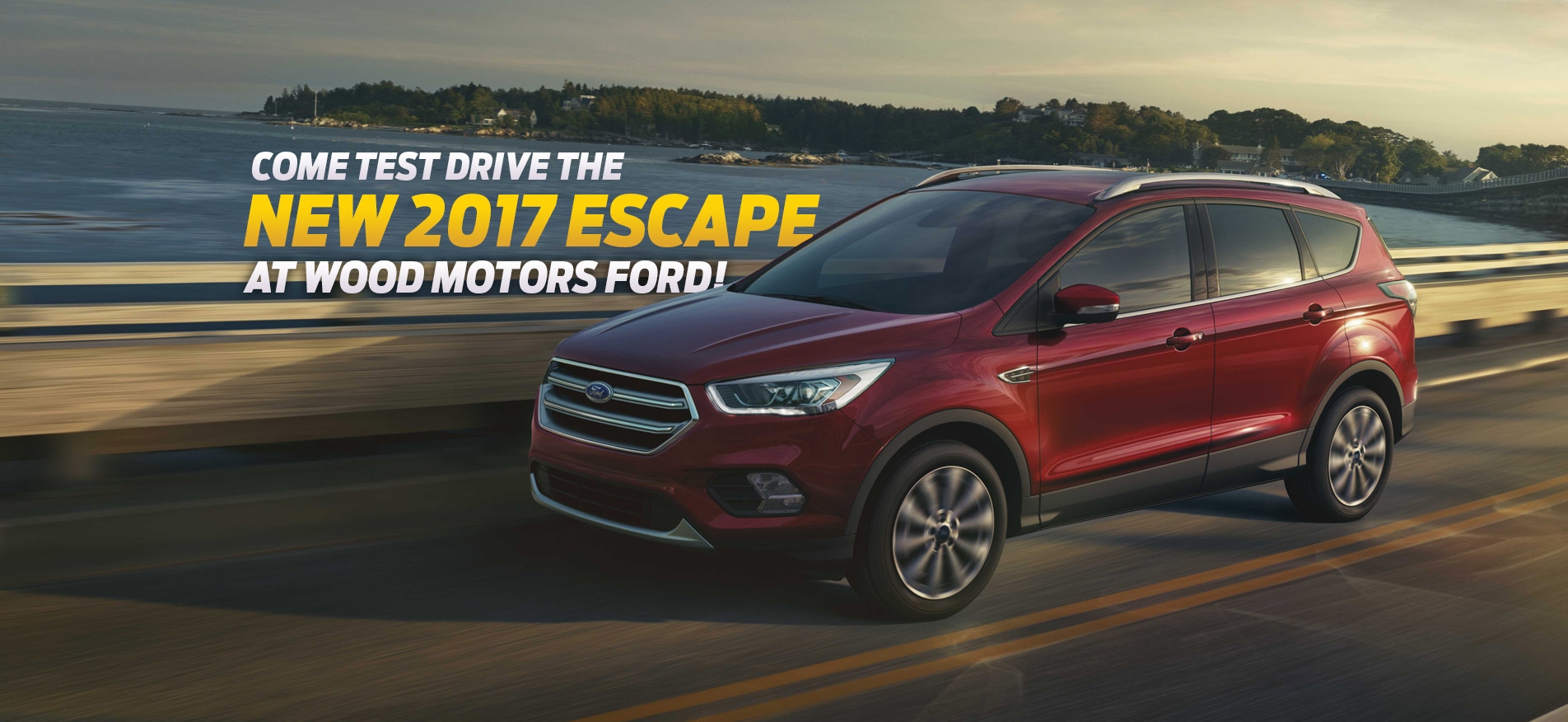 Wood Motors Ford 2017 Escape