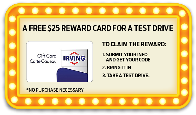 $25 Reward Card Popup