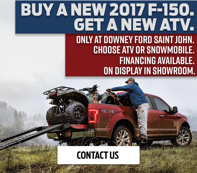 Exclusive ATV Sale | Downey Ford Saint John