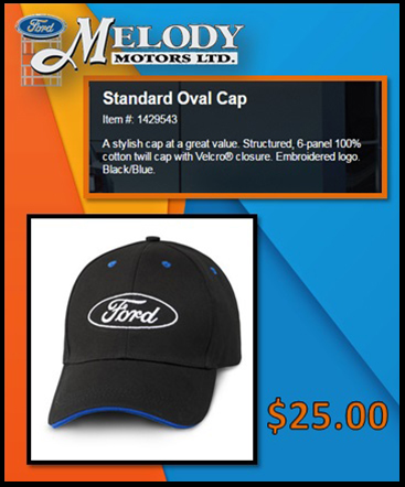 Standard Oval cap