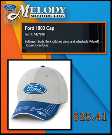 Ford 1903 cap