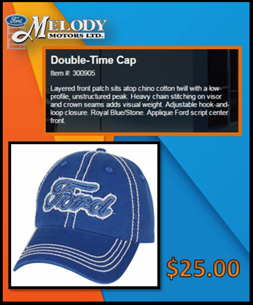 Double- Time Cap $ 25