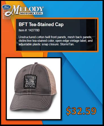 Tea Stained cap