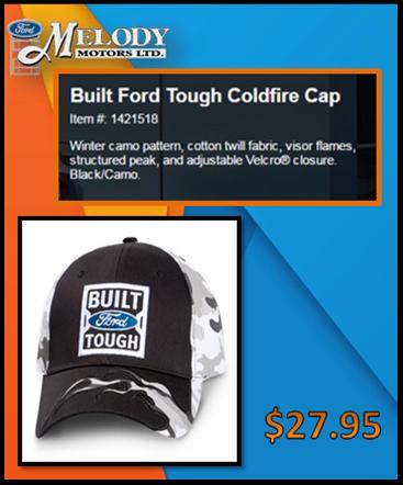 Tough coldfire cap