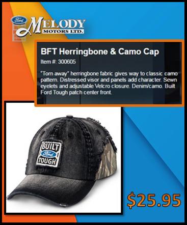BFT Herringbone & Camo Cap