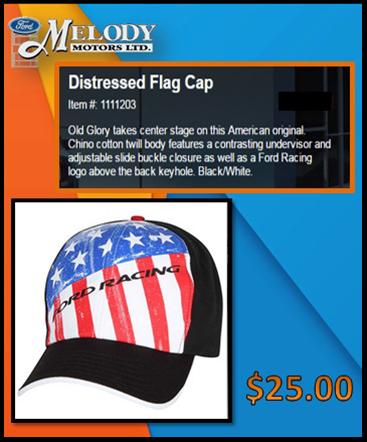 Distressed Flag cap