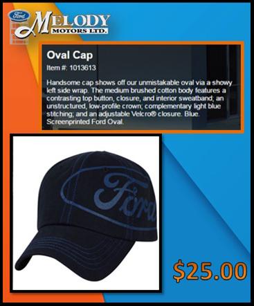 oval cap $25