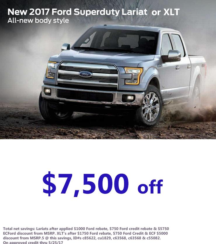 2017 Ford SuperDuty Offer