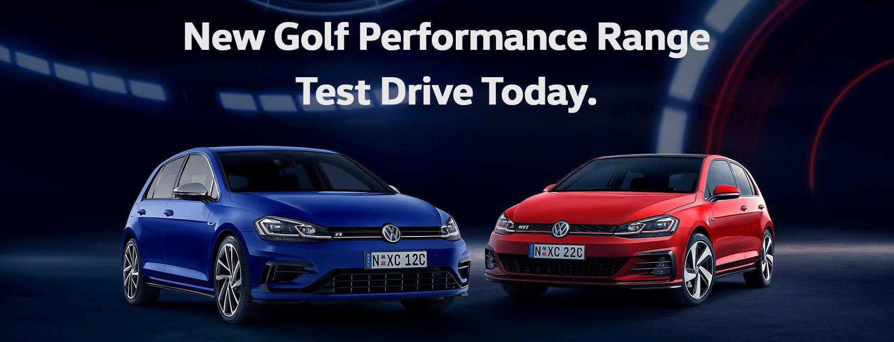 Golf Performance Test Drive