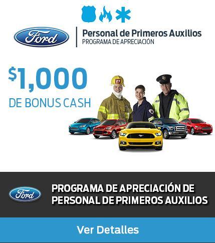 First Responders $1000 Bonus Cash