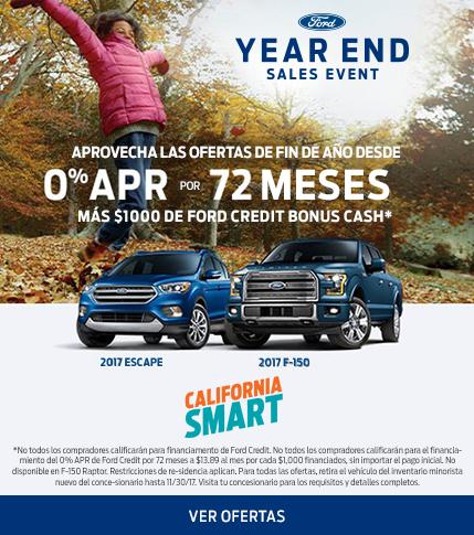 0% for 72 months Year End Sales Event