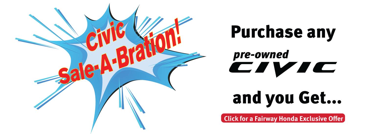 Civic Sale-A-Bration