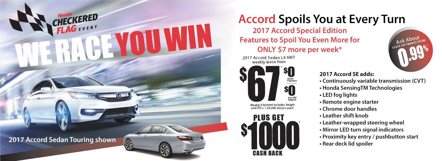 Fairway Honda - 2017 Accord