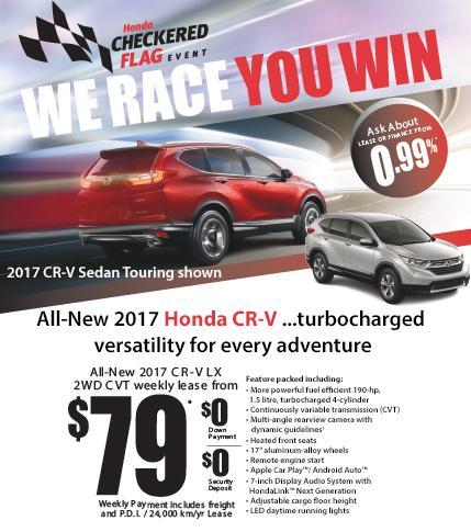 Fairway Honda - 2017 CRV