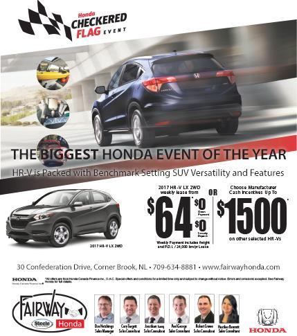 Fairway Honda - 2017 HRV