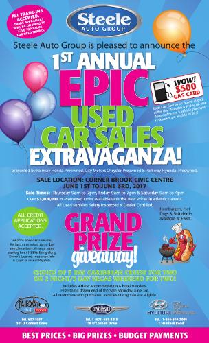 Epic Used Car Sales Extravaganza - thumbnail