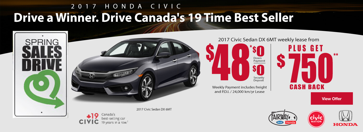 Fairway Honda - 2016 Honda Civic