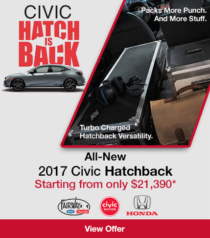 Fairway Honda - 2017 Civic Hatchback