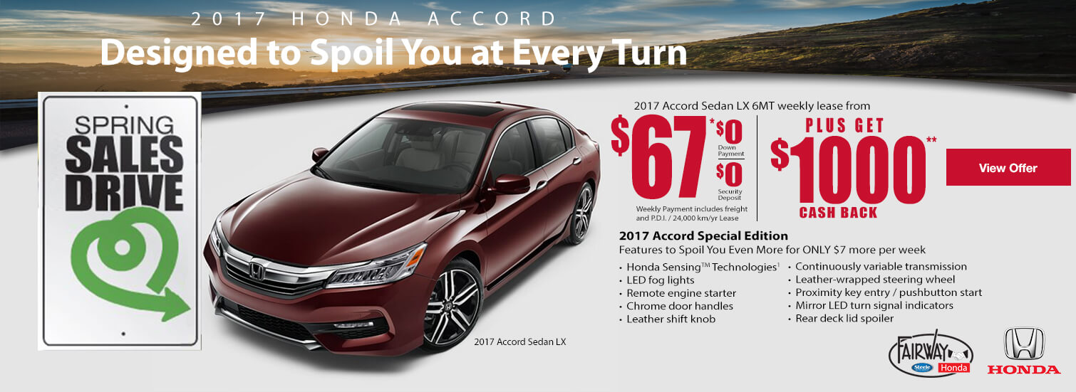 Fairway Honda - 2017 Honda Accord