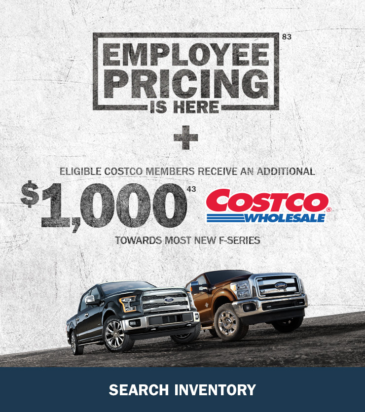 Ford Employee Pricing is Back at Cabot Ford Lincoln!