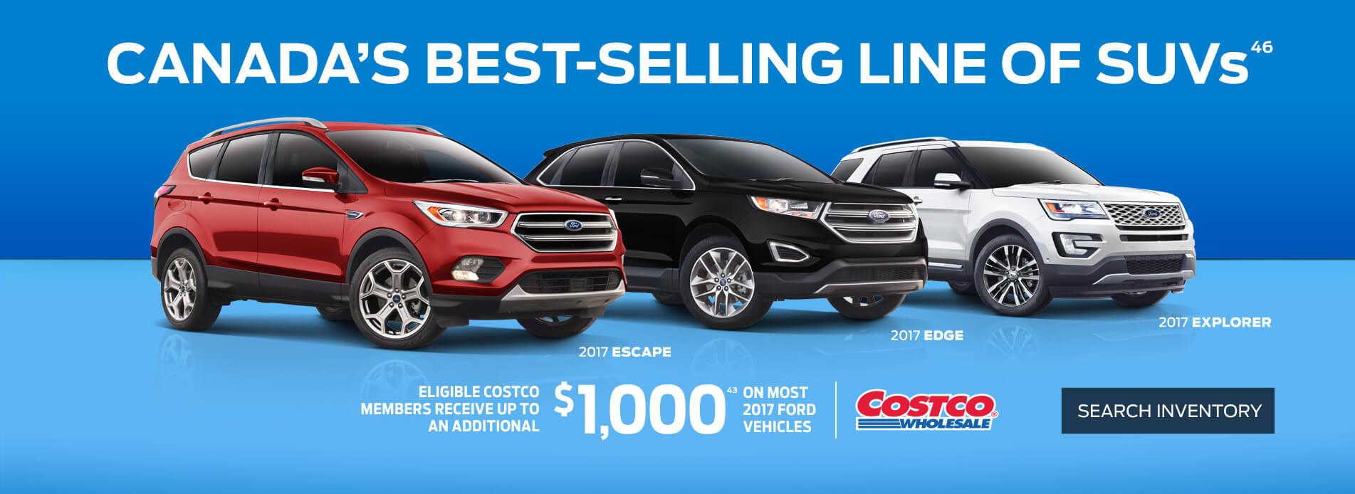 Ford SUV sale at Coastal Ford Squamish