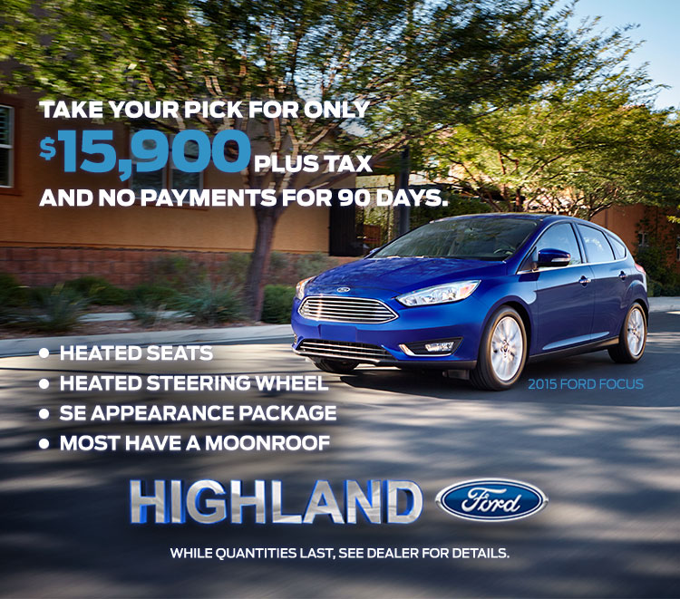 discount on ford