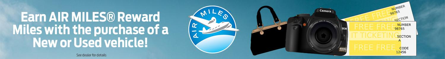 Earn Air Miles at Highland Ford in Pictou County