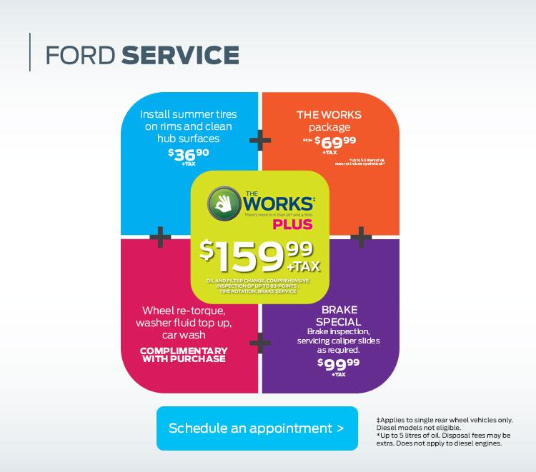 Cavalcade Ford - Spring Maintenance Special