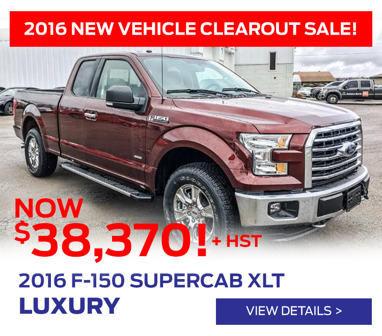 Cavalcade Ford - 2016 New vehicle Clearout