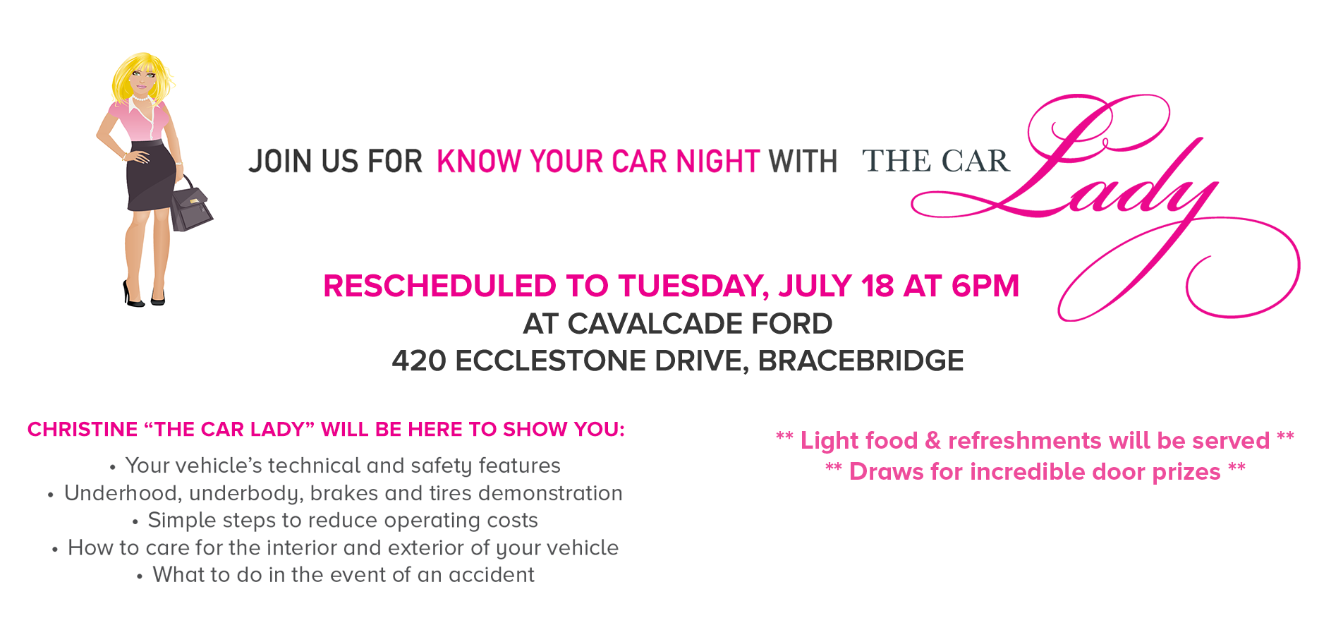 Know Your Car Night - RESCHEUDLED