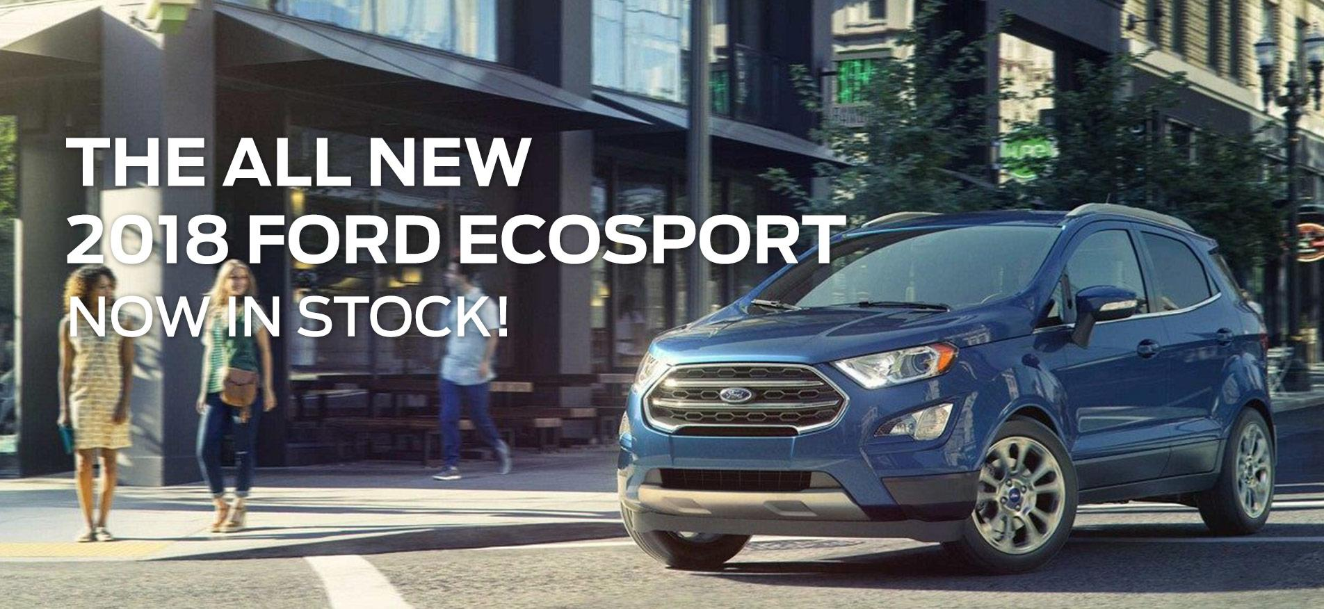 The All New 2018 Ford EcoSport