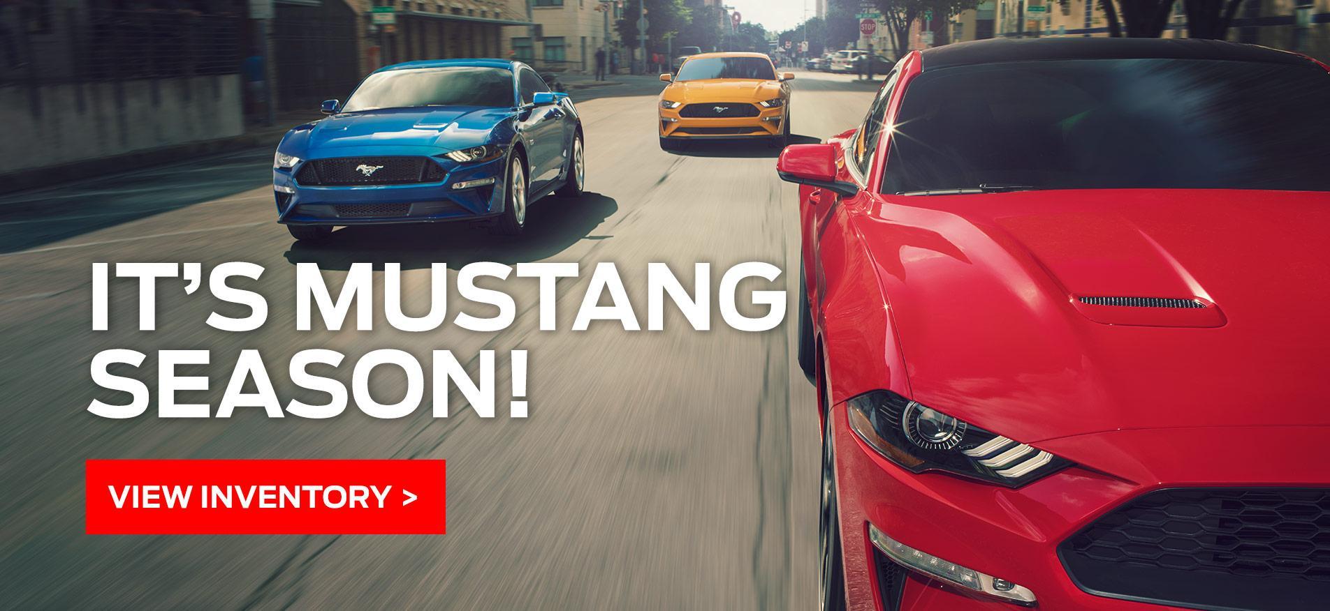 Cavalcade Ford - Mustang Offer