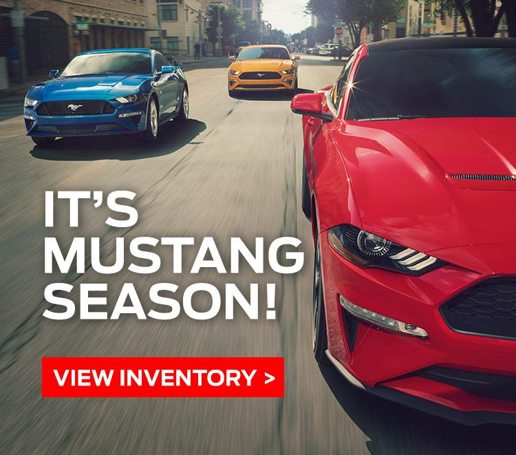 Cavalcade Ford - Mustang Offers