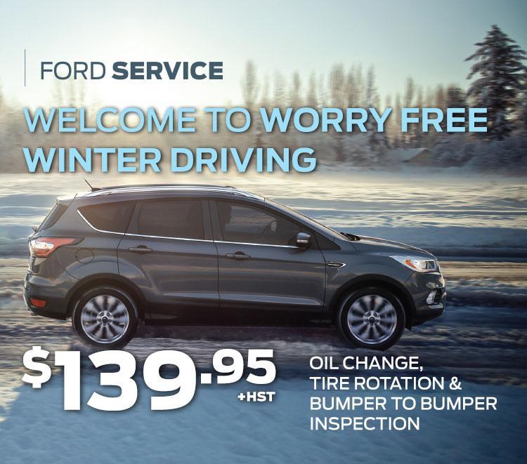 Cavalcade Ford - Service special