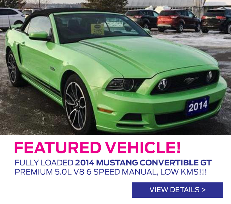 Featured Vehicle - 2014 Mustang GT