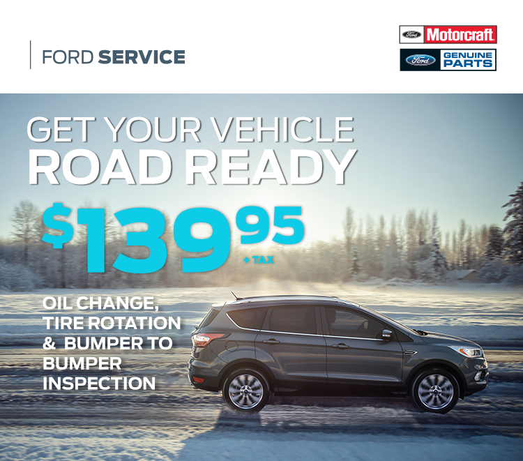 Cavalcade Ford - Road Ready Service Special