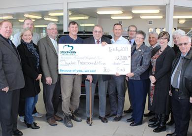 Trillium Donates to Stevenson Memorial Hospital