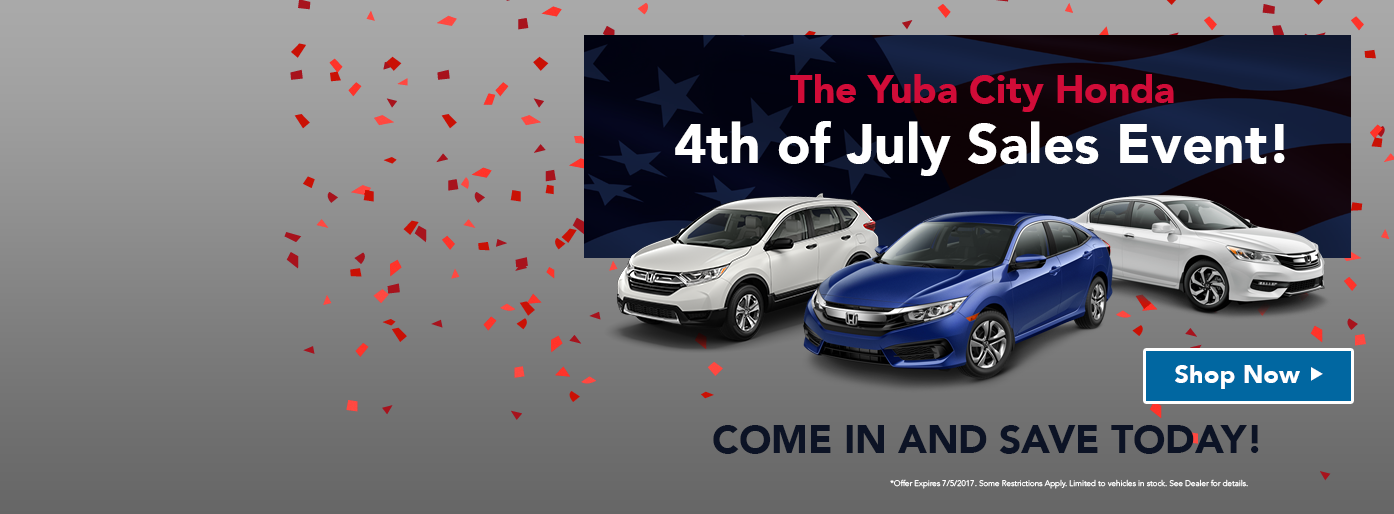 Honda 4th of July Sales Event