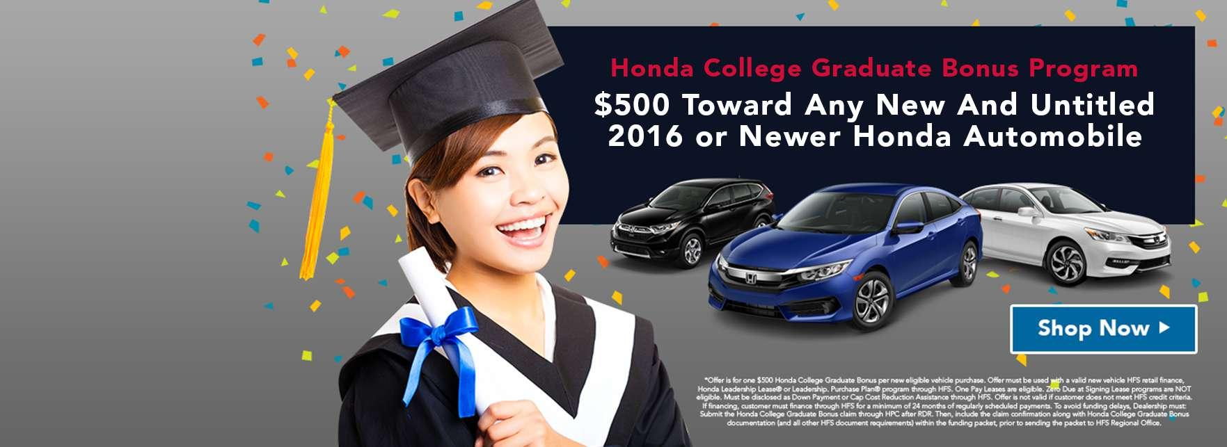 Honda College Grad Program