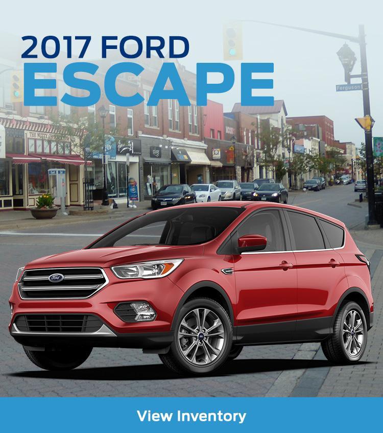 Escape 2017 Fines Ford
