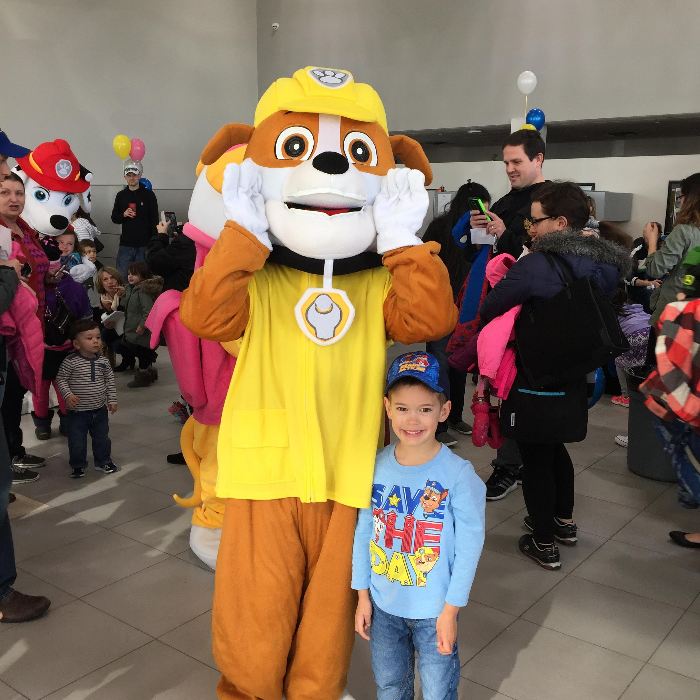 Paw Patrol at Fines Ford Lincoln